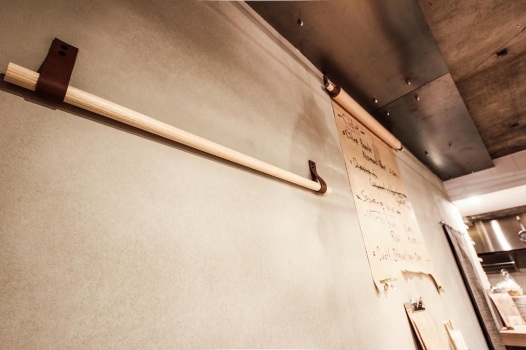 居酒屋(TORIKARA STAND)/内装デザイン事例の壁掛け小物