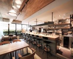 GNOME CORE堀江洋食・欧風料理レストラン内装デザイン事例写真