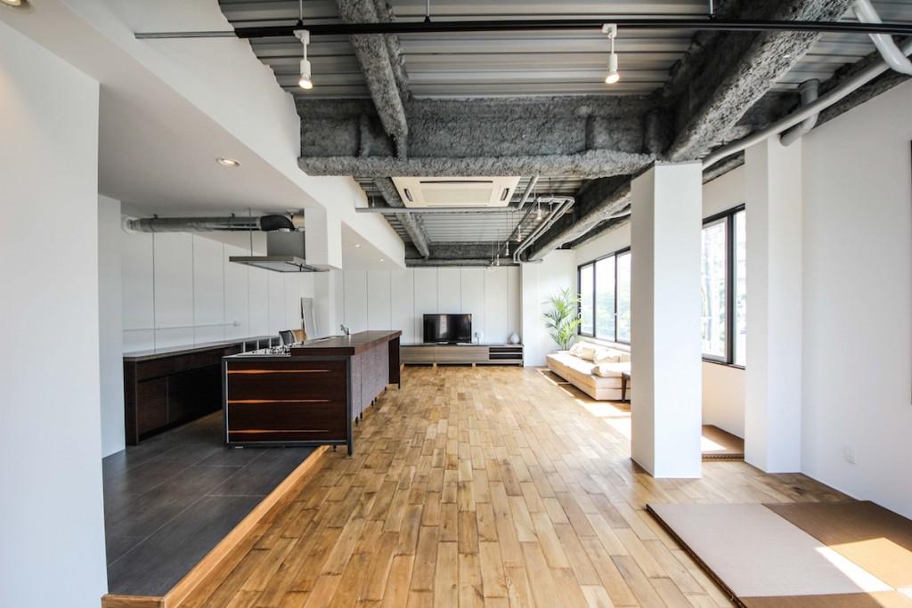 ゲストハウス内装デザイン事例写真