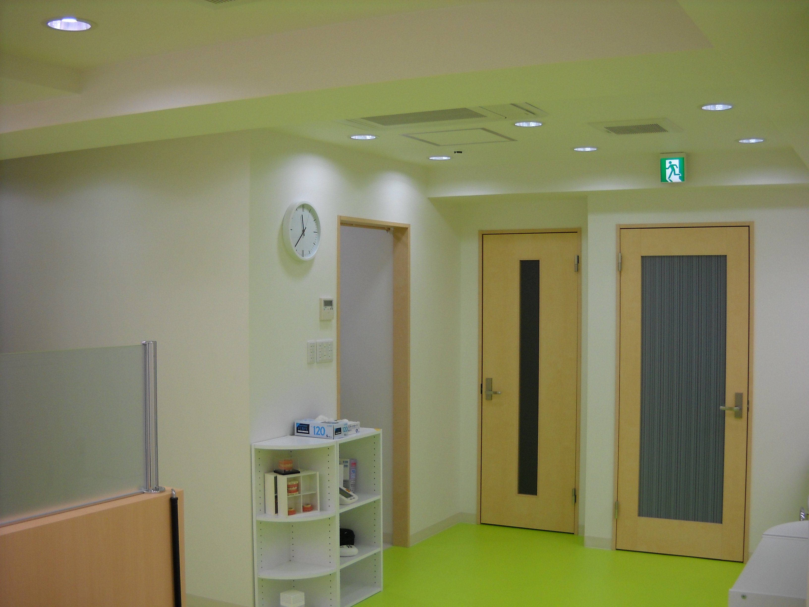 NO.si02_歯科医院クリニック/内装デザイン事例