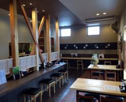 蕎麦屋の内装デザイン