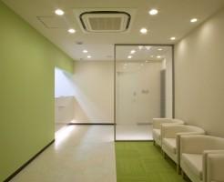 歯科医院の受付内装デザイン