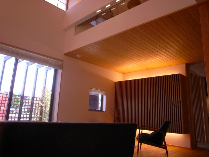 天井の吉野杉