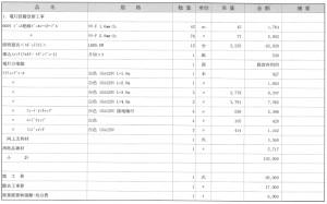 レールライトの工事価格
