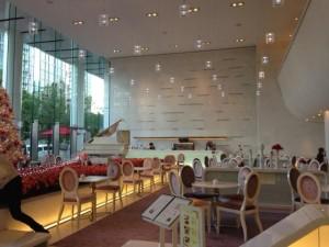 ホテルエルセラーン大阪カフェ