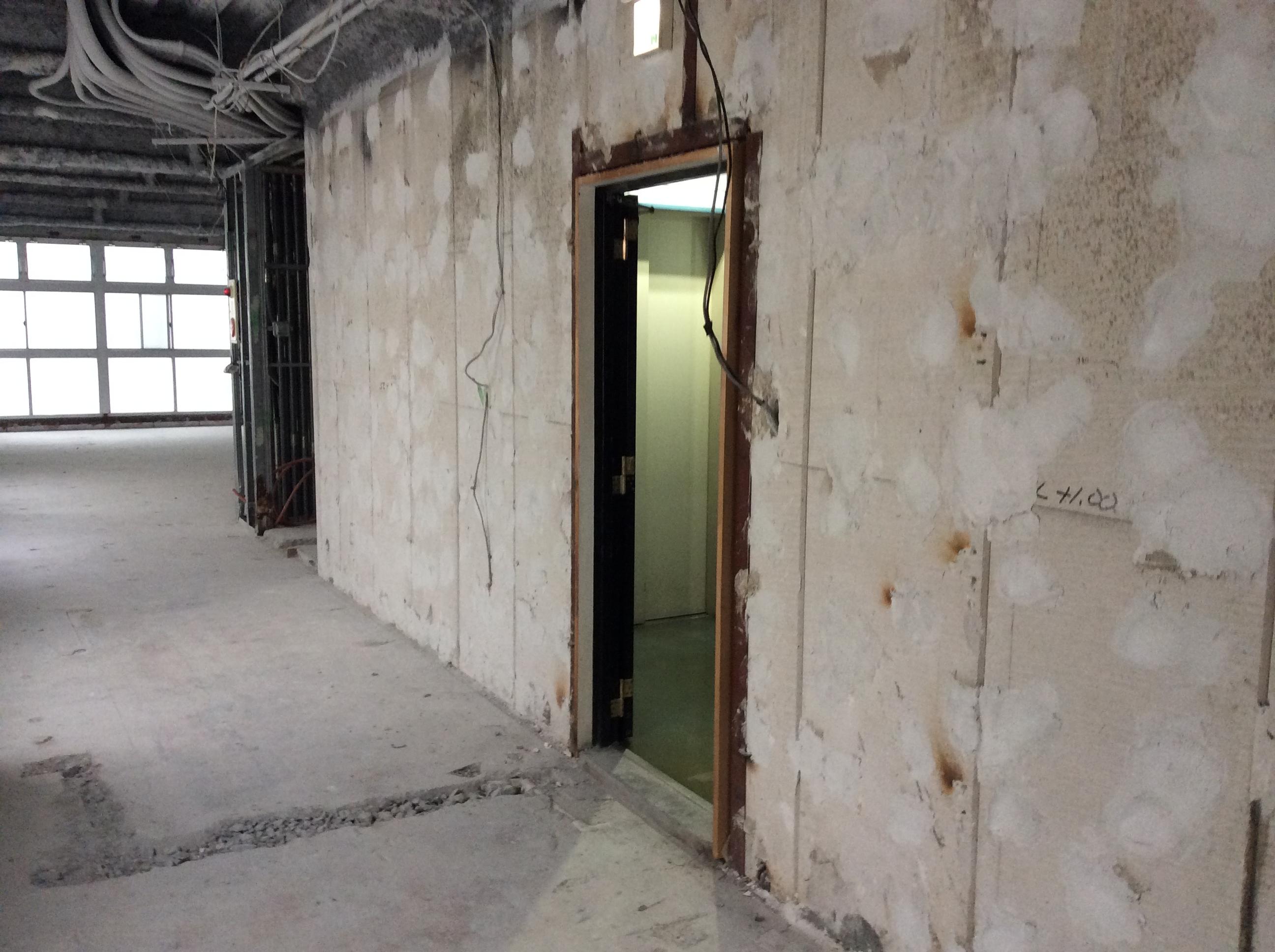 スケルトンオフィスの画像