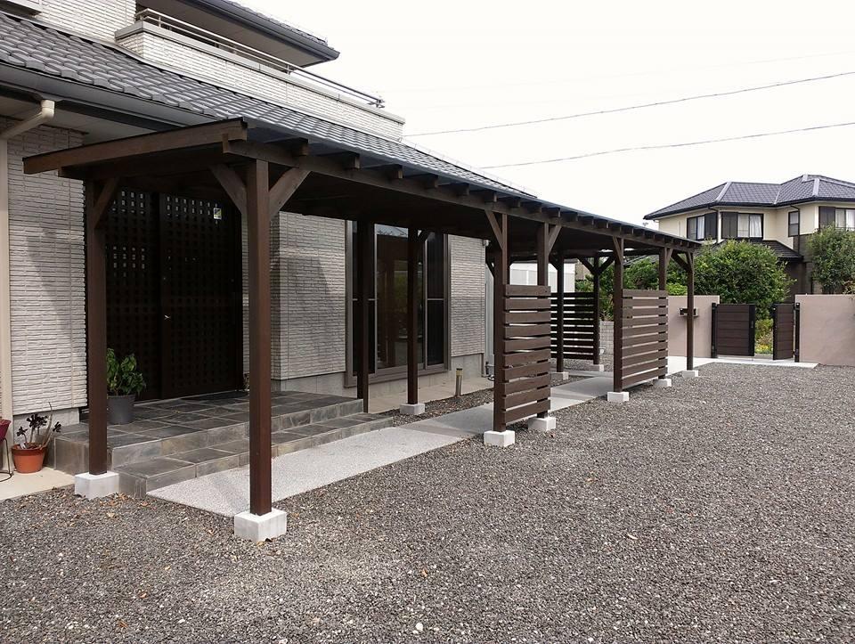 住宅の外構デザイン