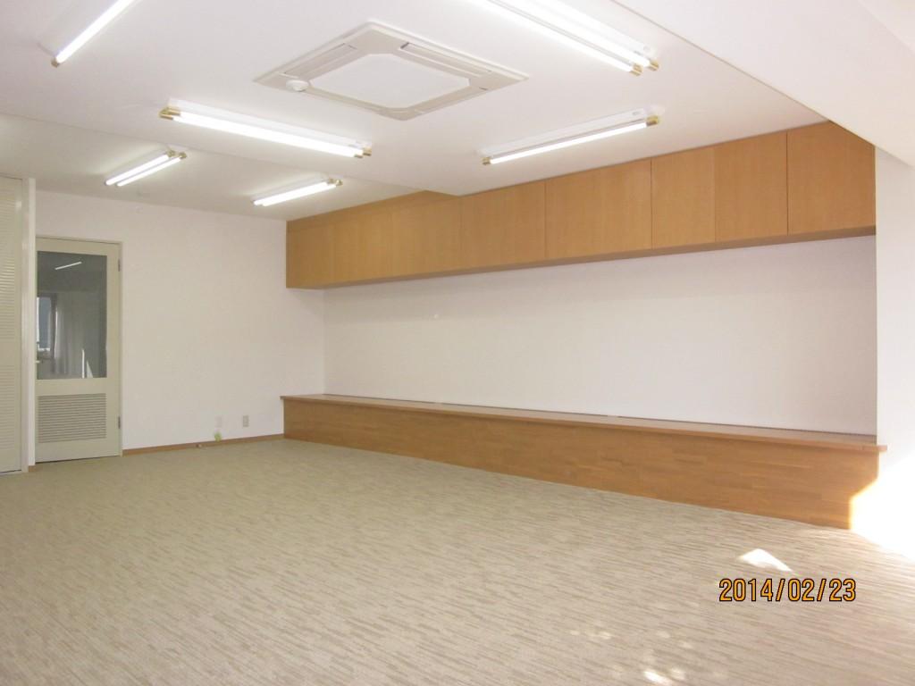 集会所の内装工事事例