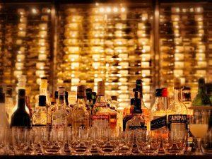 ビンとグラス