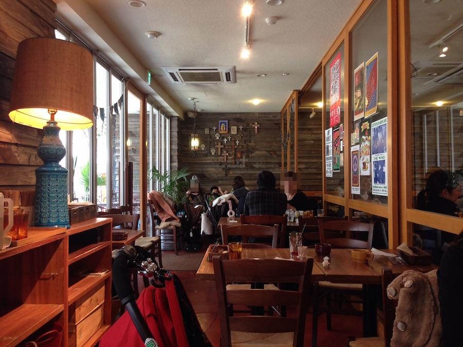 おしゃれカフェのインテリアデザイン
