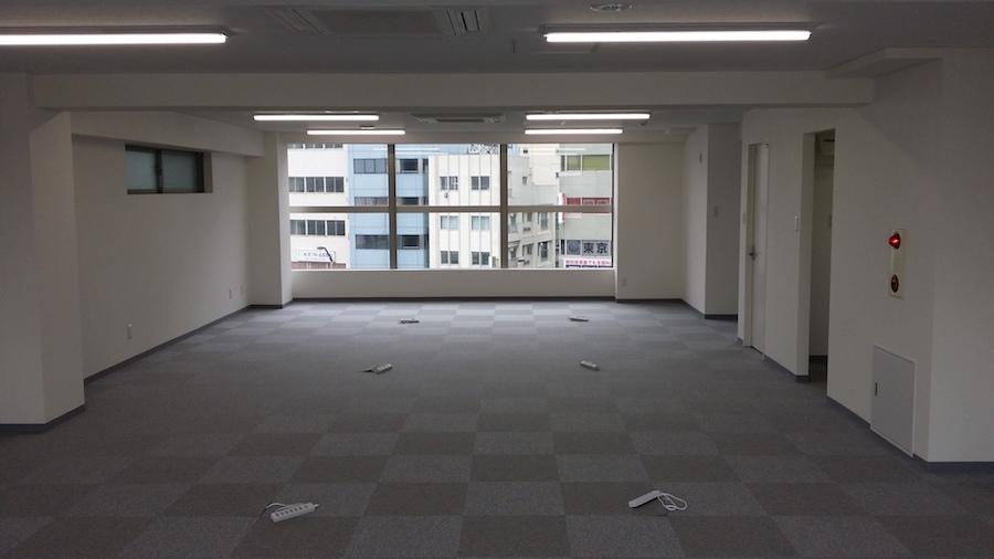 杉並事務所内装工事写真