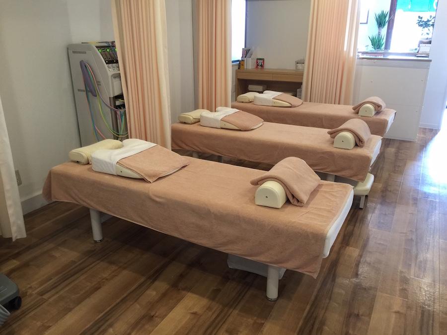 整骨院施術用ベッド