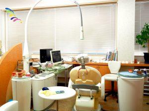 歯科医院の内装