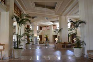 ホテルの内観